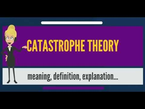 What is CATASTROPHE THEORY? What does CATASTROPHE THEORY mean? CATASTROPHE THEORY meaning