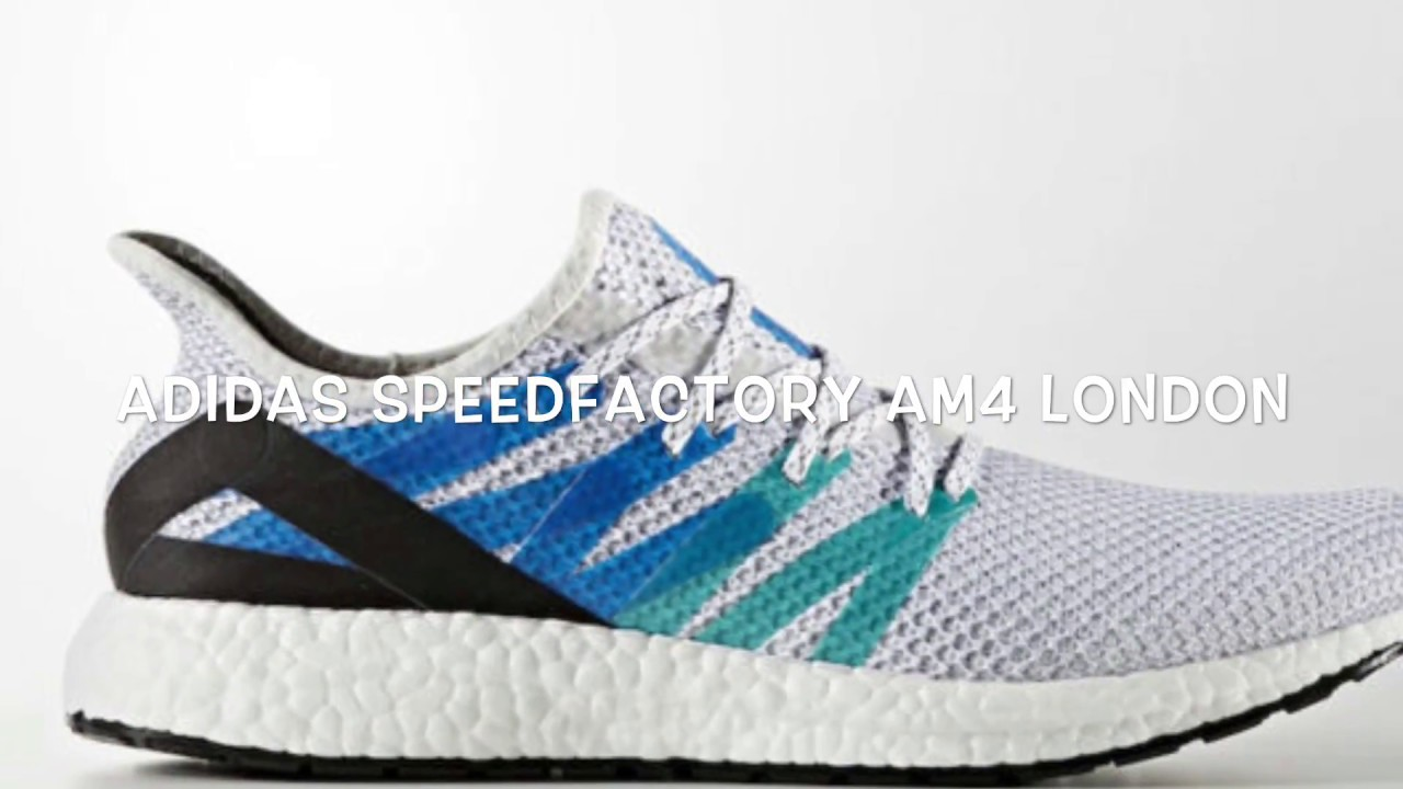 premium selection 8b5e4 d1bbf ADIDAS SPEEDFACTORY AM4 LONDON REVIEW