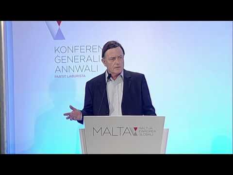 Alfred Sant | Konferenza Generali Annwali Partit Laburista
