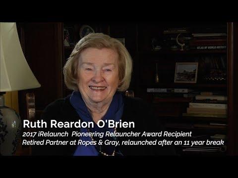 2017 Pioneering Relauncher Award - Ruth Reardon O'Brien