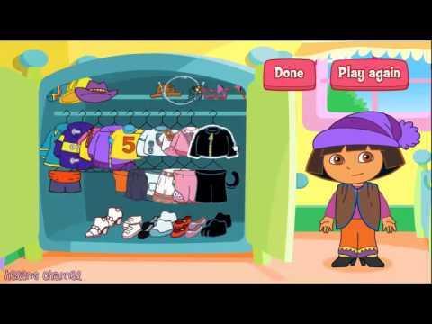 DORA THE EXPLORER   Dora's Adventure Dress Up   New English Full Game 2014