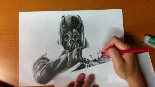 Repeat youtube video Dishonored (Corvo) Sketch