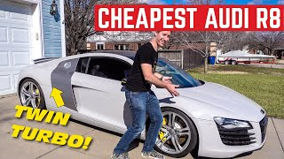 I Just Bought The Cheapest Twin Turbo Audi R8 In The Country!