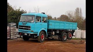 Ecco il vecchio camion degli anni settanta , un ruggito da leone FIAT 170 NC 35