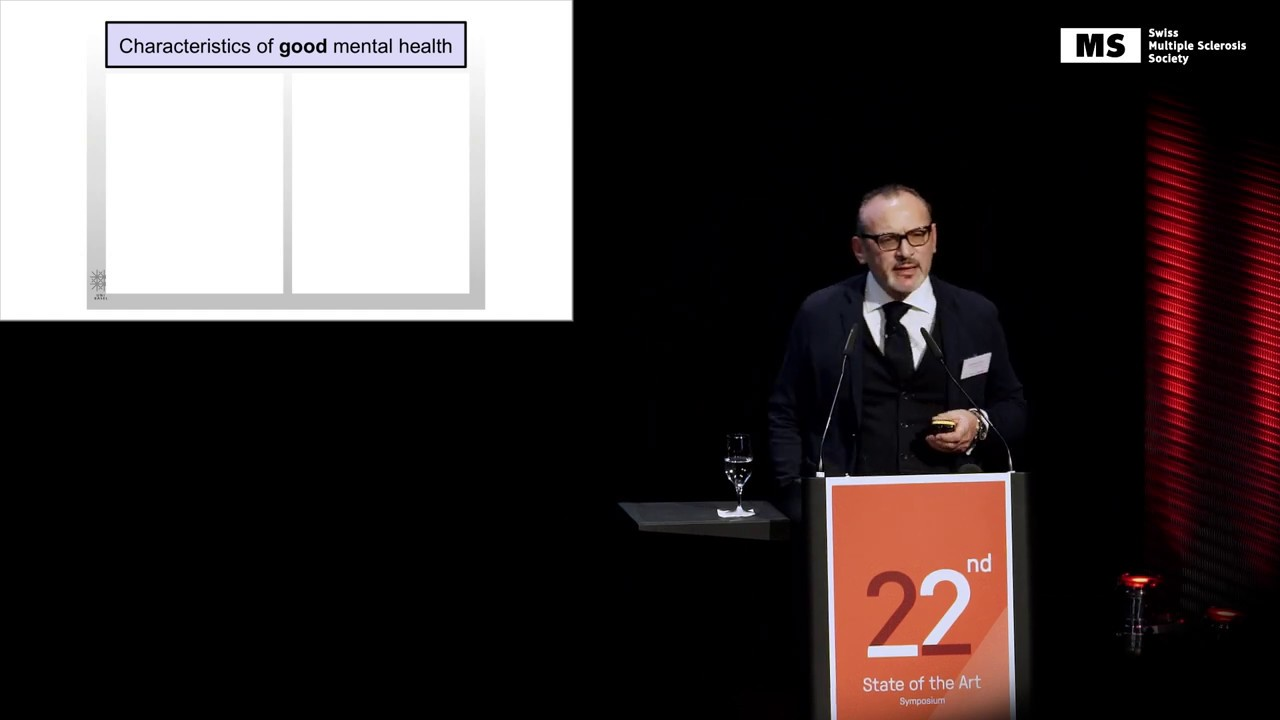 22nd State of the Art Symposium – Pasquale Calabrese: Addressing Neuropsychiatric Issues in MS