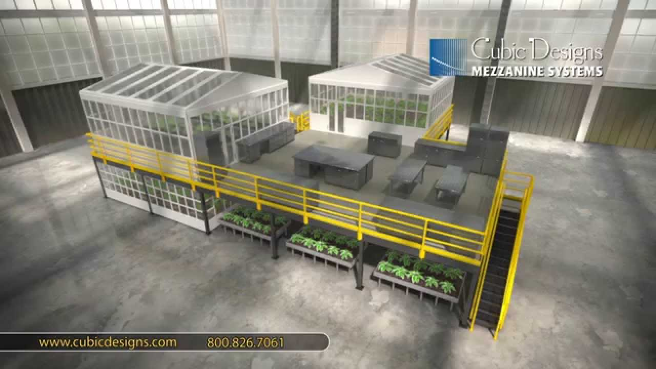 Cubic Designs Mezzanine : Mezzanine animation for use in horticulture cubic