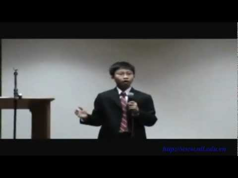 Cậu bé 12 tuổi có tài diễn thuyết cực đỉnh bằng tiếng anh [NLL.COM.VN]