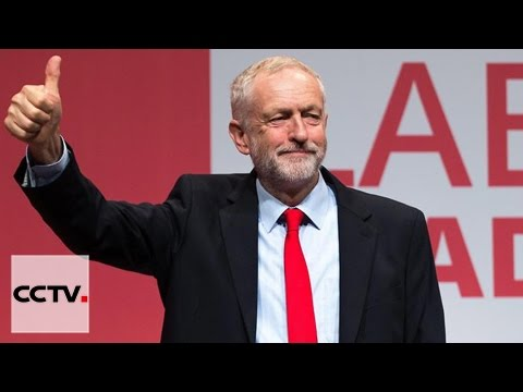 UK Labour Party leader Jeremy Corbyn triumphs in re-election