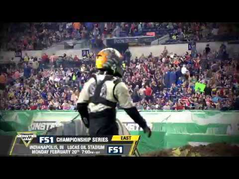 Monster Jam in Indianapolis - Monday February 20th on FS1
