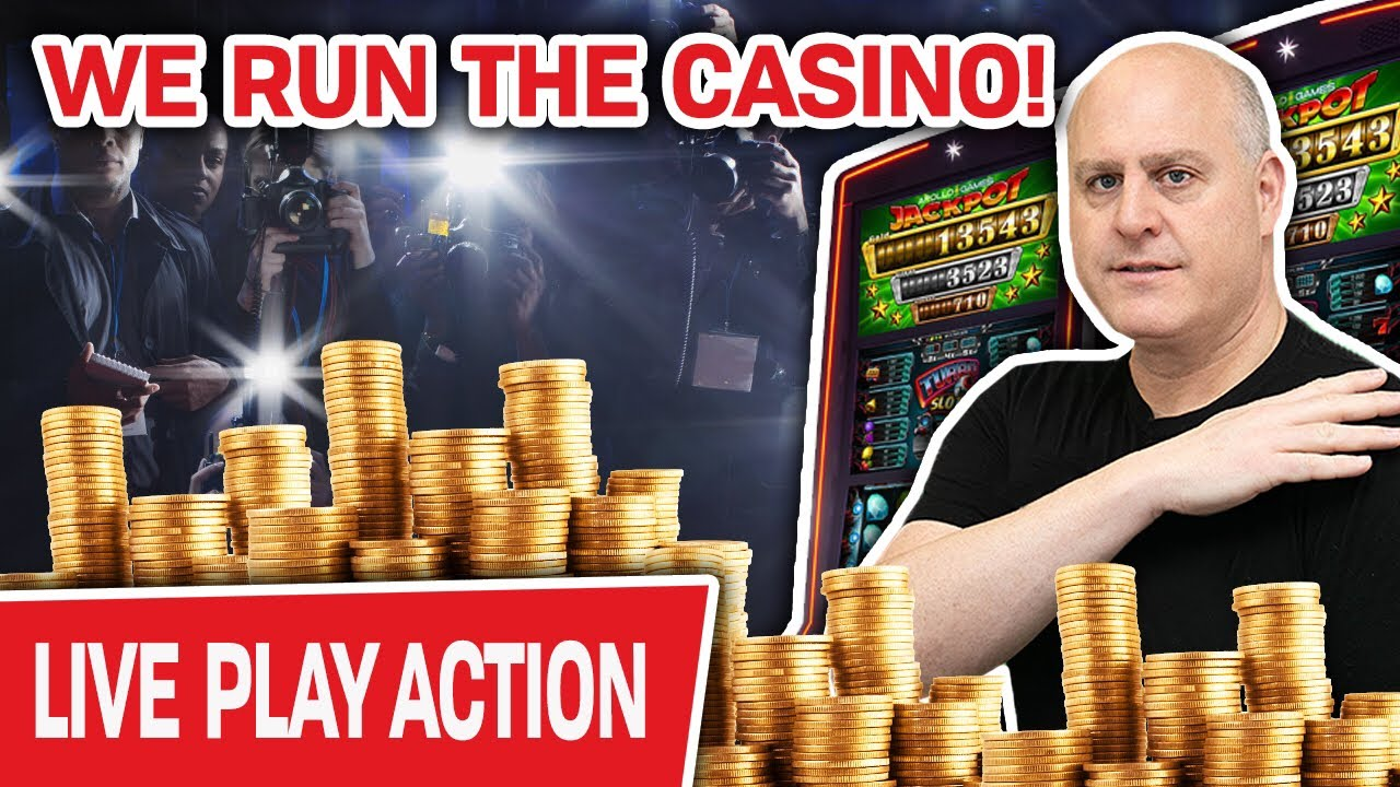 Boom Boom Boom We Run The Casino Live Only High Limit Slots For Raja Youtube