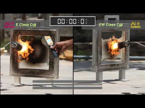 Fire Resistant Glass - Monolithic (E rated) vs Interlayered (EW rated) glass