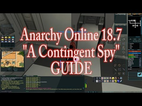"ANARCHY ONLINE 18.7 ""A Contingent Spy"" Mission Guide  (1080p60 Gameplay / Walkthrough)"