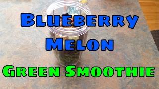 Nutribullet Blueberry Melon Green Smoothie