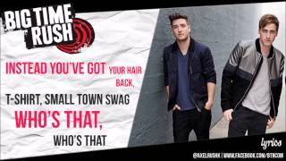 Big Time Rush - Redlight Greenlight (Lyrics)