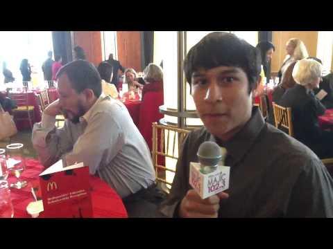Majic 102.3 Celebrates McDonald's Educates Scholarship Reception