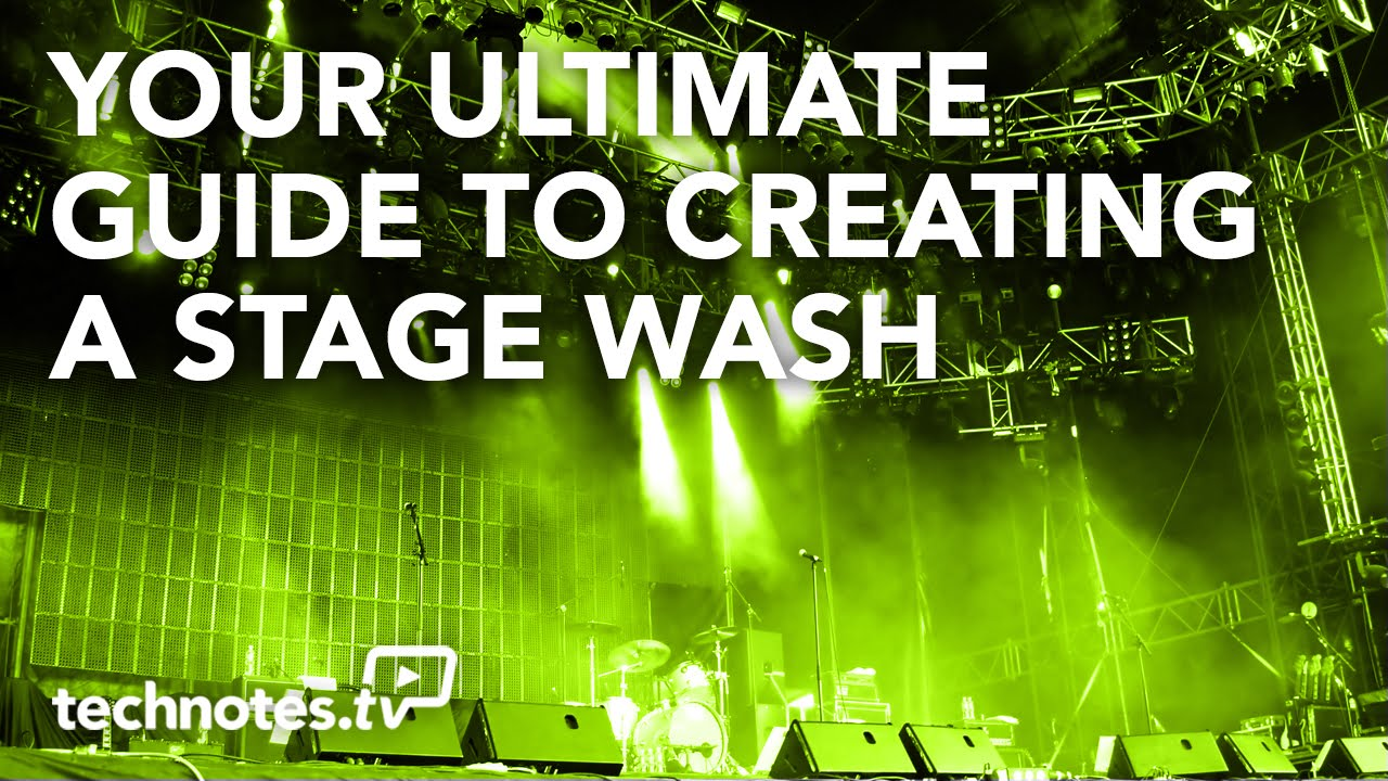 Your Ultimate Guide to Creating a Stage Wash Lighting a Stage