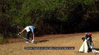 Règles de golf 2019 : Zones que le comité peut marquer comme