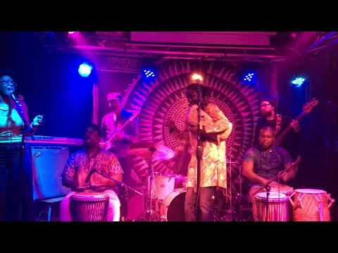 Mohammed Alidu and his band @ Shrine World Music Venue Harlem 2017