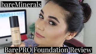 BAREMINERALS BAREPRO LIQUID FOUNDATION REVIEW | Combo Skin No Primer, 10 Hours