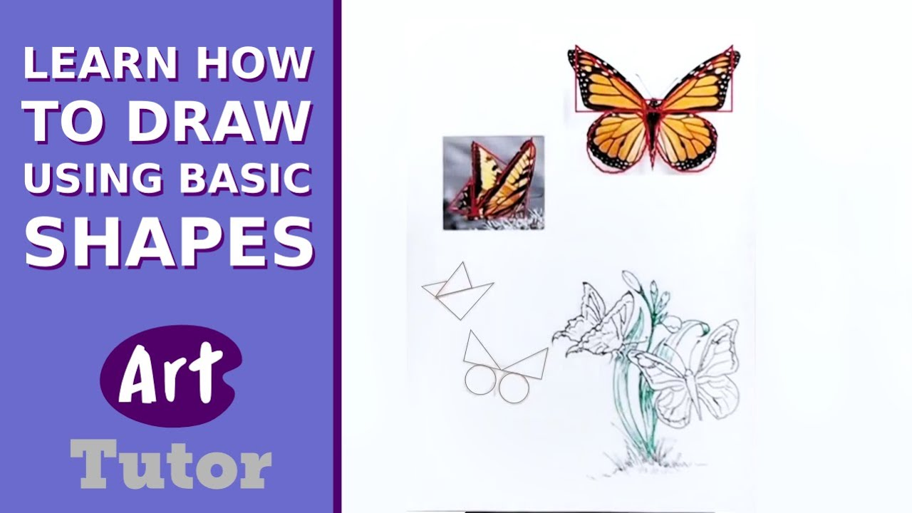 Learn How to Draw Using Basic Shapes - YouTube