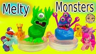 Erstellen Sie Ihre Eigenen Melty Monster - Putty-Play-Video Mit My Little Pony - Spielzeug Video