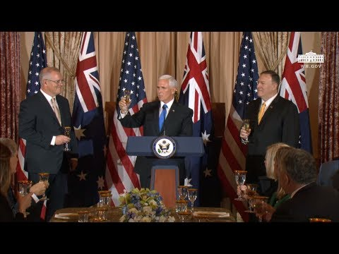 The U.S. State Department Lunch for the Prime Minister of Australia
