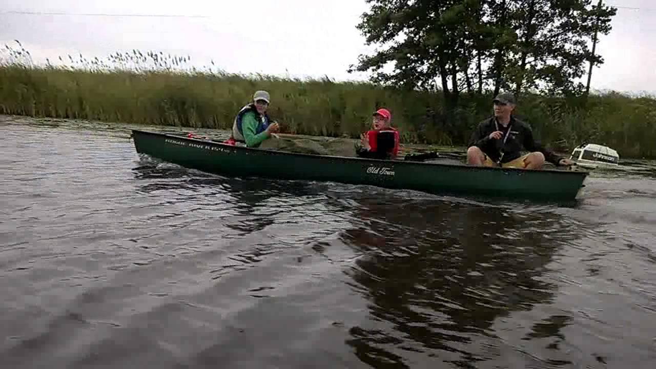 Old Town Canoe - Pętla Żuławska - dzień 1/4