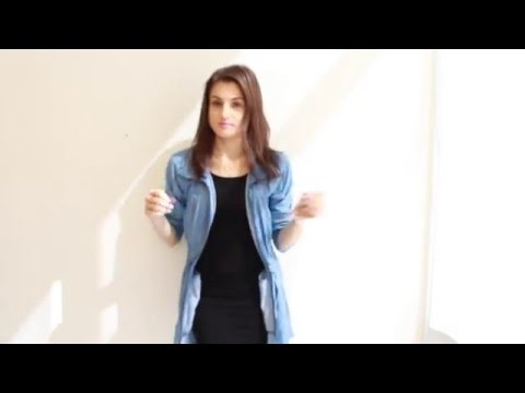 Outfit Of The Day Denim Jacket And Little Black Dress Youtube