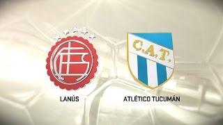 Lanús vs. Atlético Tucumán. Fecha 10. Torneo de Primera División 2016/2017. FPT