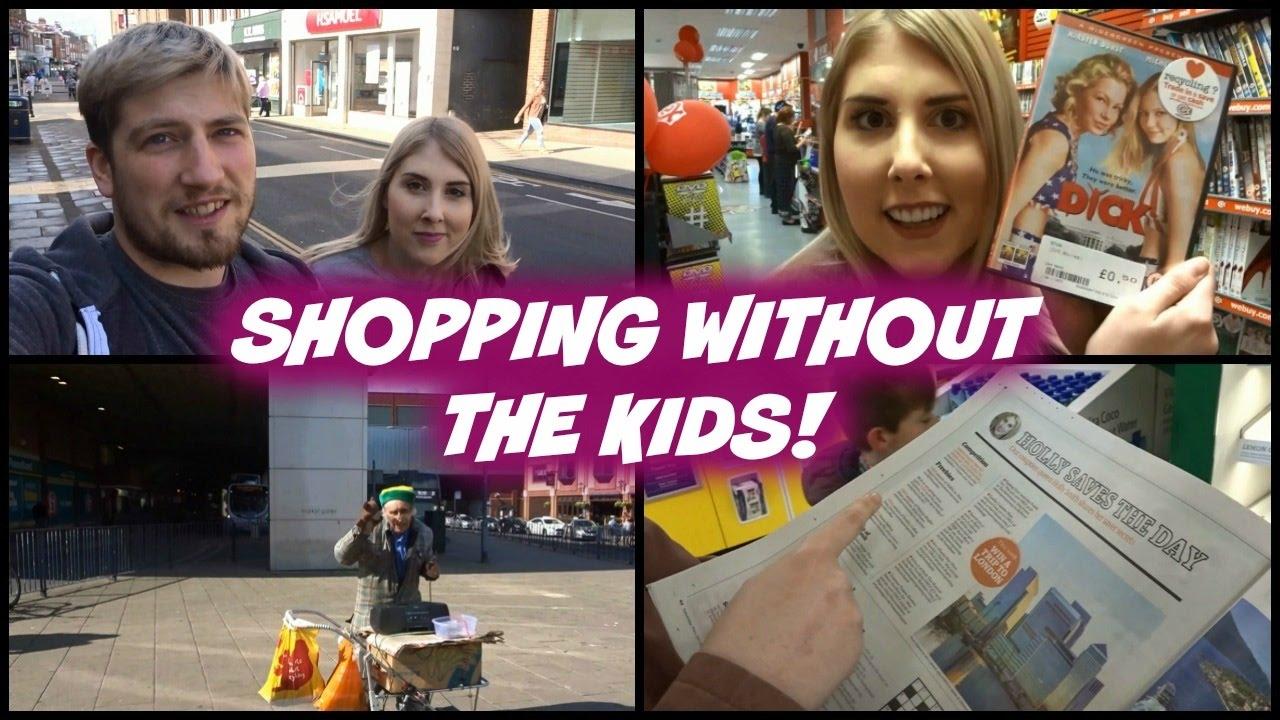SHOPPING WITHOUT THE KIDS (PARENTAL ADVISORY) - YouTube