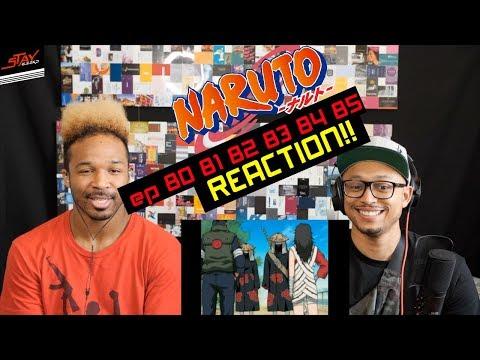 Sasuke vs Itachi! First Watching Naruto Episodes 80 81 82 83 84 85