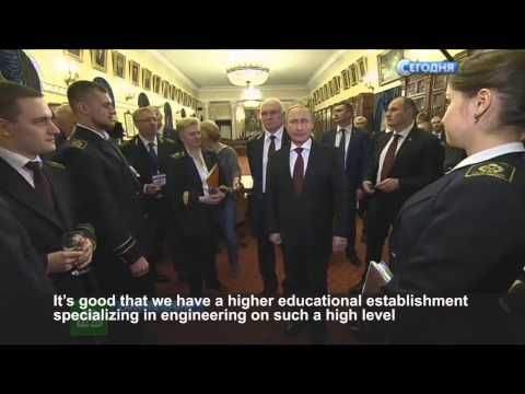 Vladimir Putin about the National Mineral Resources University, 26.01.2015