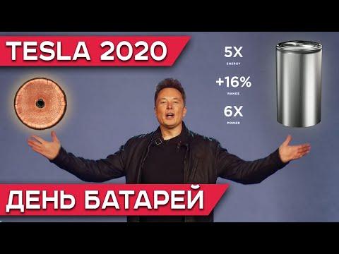 День батарей Тесла на Русском | Tesla Battery Day 2020