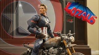 CAPTAIN AMERICA Stop Motion Action Video Trailer