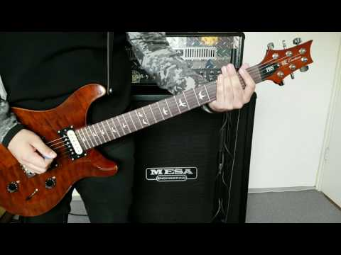 Linkin Park - Papercut - Guitar cover by Alejandro OF