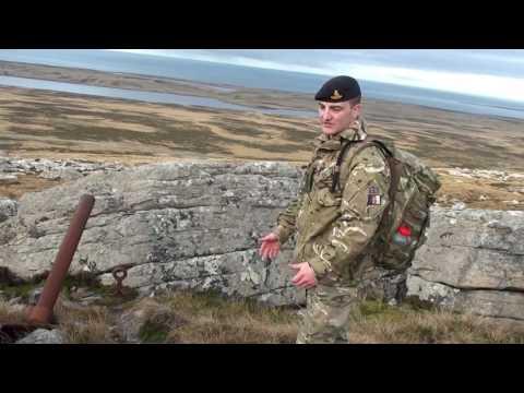 Battlefield Tour Of Mount Harriet 6