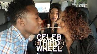 MOUTH TO MOUTH CHALLENGE | CELEB THIRD WHEEL w/ Teala Dunn