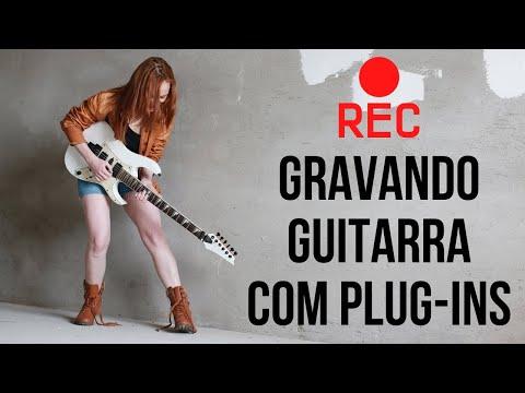 Como Gravar Guitarra direto na Interface usando Plug-ins