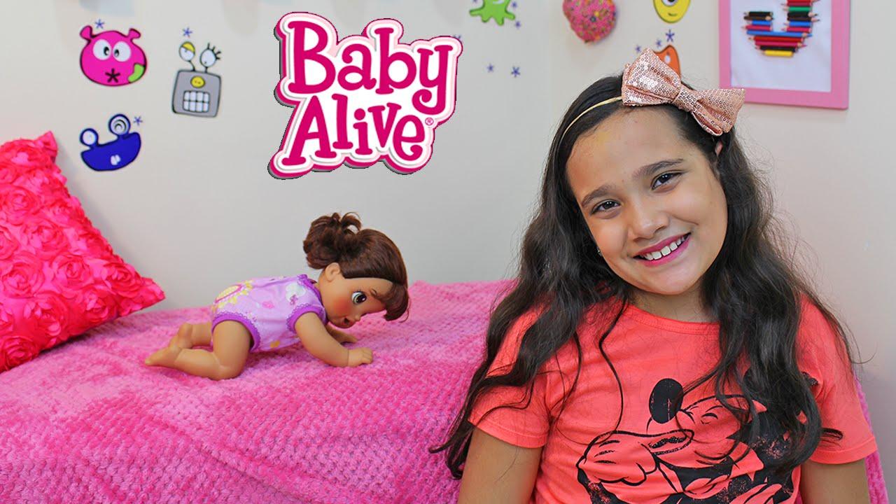 12441a638a BABY ALIVE QUE ENGATINHA - HORA DO PASSEIO! JULIANA BALTAR - YouTube