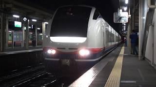 【JR東】信越本線 特急しらゆき7号 新潟行  直江津 Japan Niigata JR Shin'etsu Line Trains
