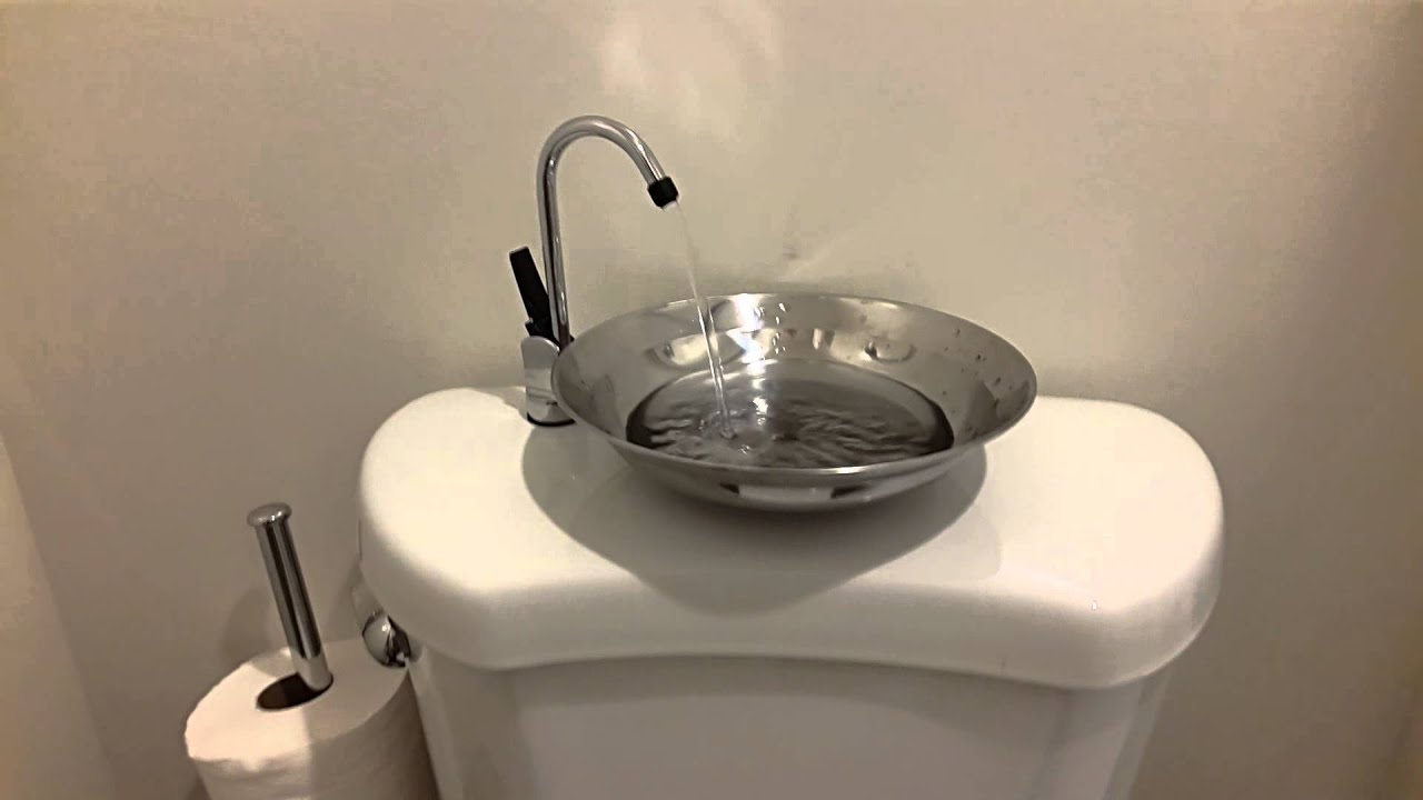 Toilet Tank Sink Top - YouTube
