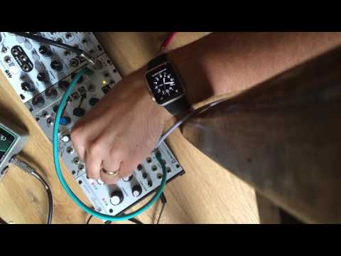 Mutable instruments rings processing electric guitar