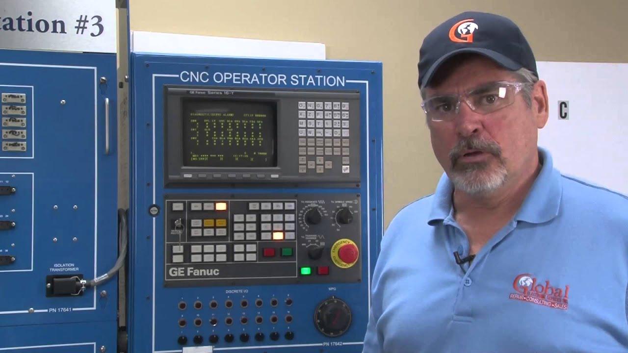 Fanuc CNC Troubleshooting: Alarm and Motors