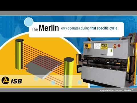 ISB Group Merlin, Press Brake Guarding, Light Curtains.
