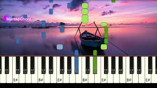 ALAN WALKER - ALL FALLS DOWN - Very Easy Piano Tutorial MantapChord