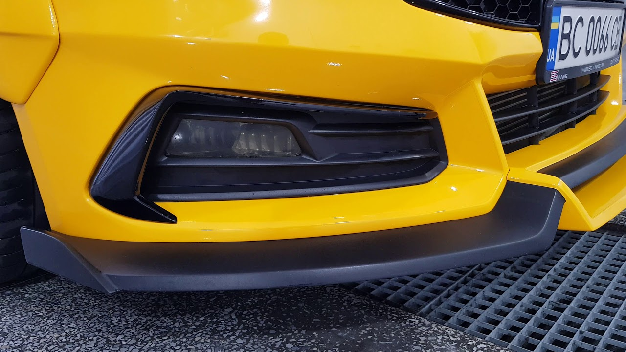 Fog Light Covers For Focus St By Ss Tuning Youtube