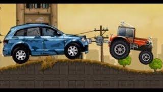 Трактор спасает машины  Игры про трактора  Игры онлайн бесплатно