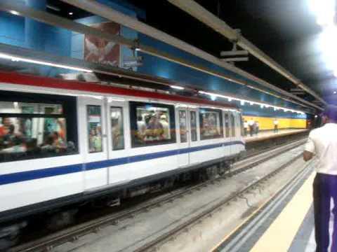El metro de santo domingo Republica Dominicana