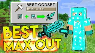 MAXED OUT BEST GOD SET! | Minecraft: Money Wars #96 (PVP 1.8)
