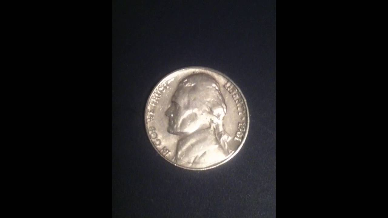 Awesome 1961 Jefferson nickel Error
